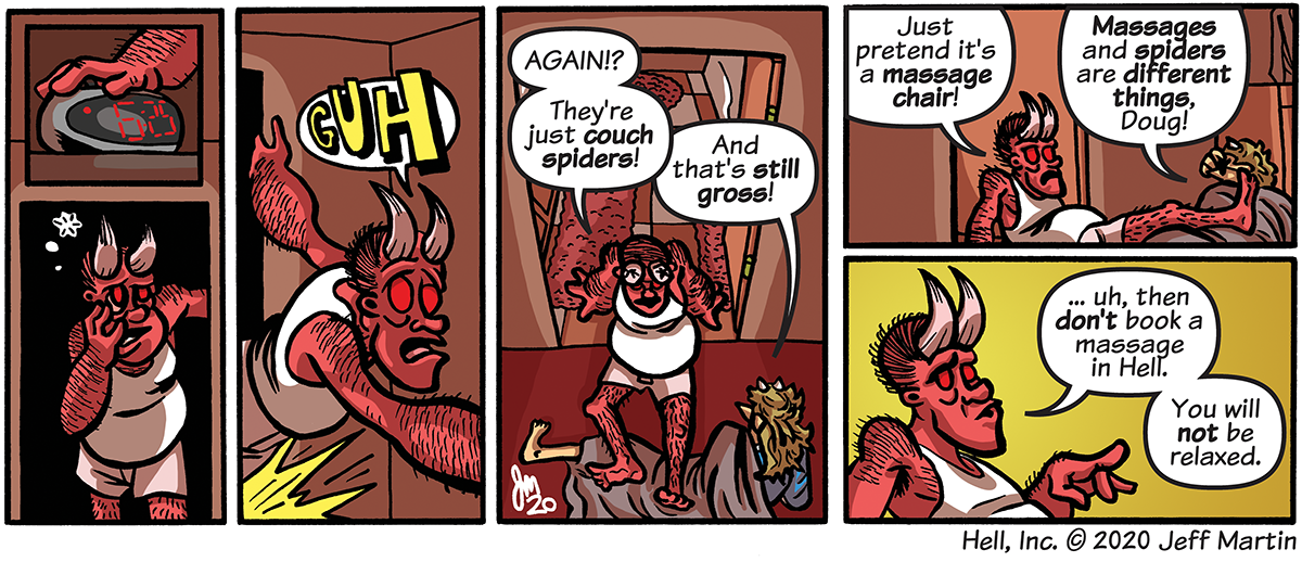 Don't Book a Massage in Hell