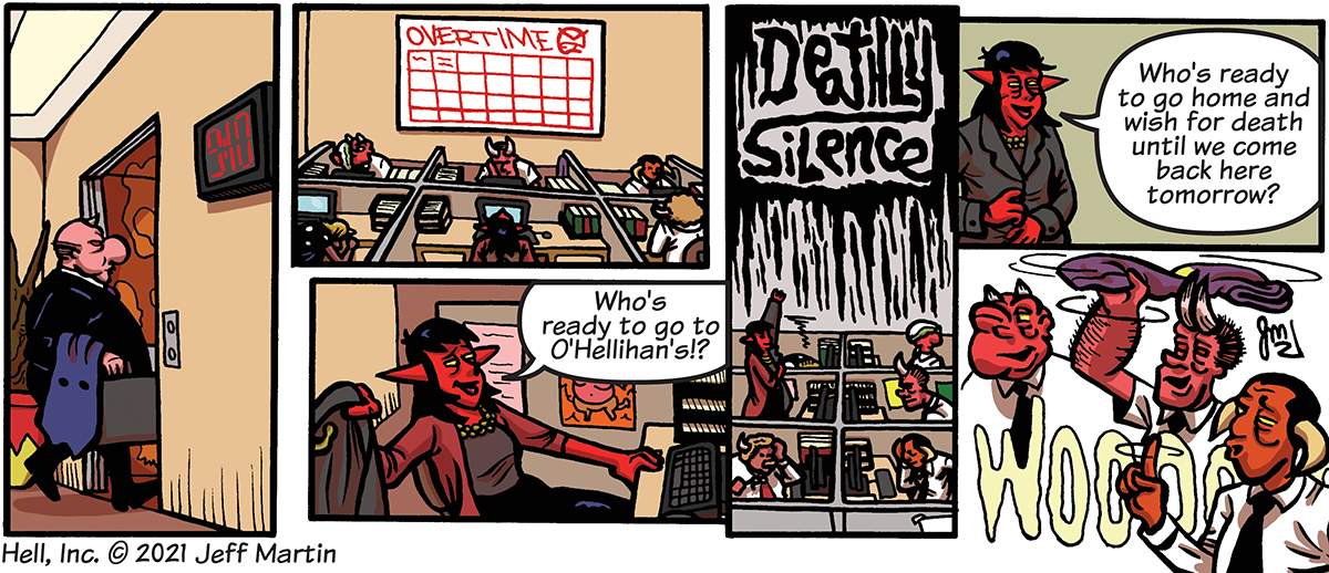 Hell, Inc. and the Deathly Silence